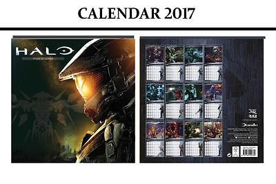 Halo Official Calendar 2017 + Halo Fridge Magnet