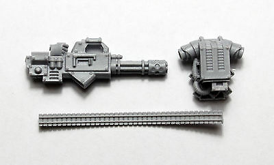 Warhammer 40K Space Marines Forgeworld Proteus Pattern Rotor Cannon Bits