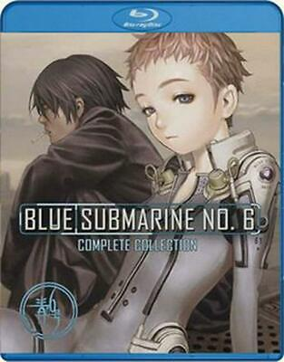 Blue Submarine No. 6: Complete Collection - Blu-Ray Region 1 Free Shipping!