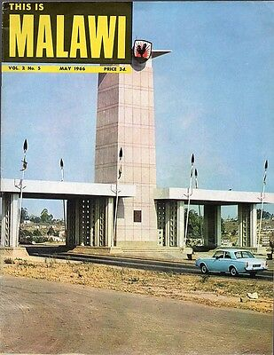 This is Malawi - Vintage May 1966 News/Info Booklet