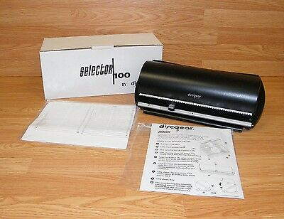 Discgear Selector 100 - CD Disc Retrieval System w/ Index Catalog **NEW-READ**