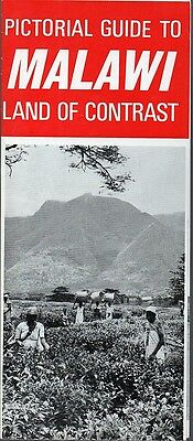 Vintage 1960s Africa Travel Brochure - Pictoral Guide to Malawi Land of Contrast