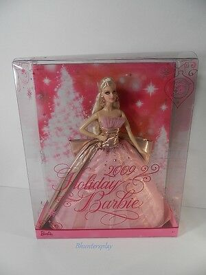 2009 PINK HOLIDAY BARBIE 50TH ANNIVERSARY Collector  DOLL