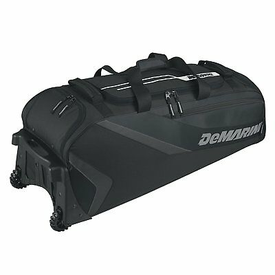 DeMarini Grind Wheeled Bag, Black