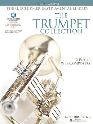 Trumpet Collection Intermediate Level Classical Sheet Music Book & Online Audio