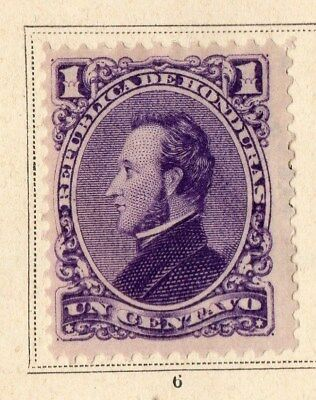 Guatemala 1878 Early Issue Fine Mint Hinged 1c. 094910