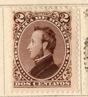 Guatemala 1878 Early Issue Fine Mint Hinged 2c. 094911