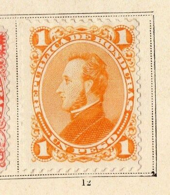 Guatemala 1878 Early Issue Fine Mint Hinged 1P. 094916