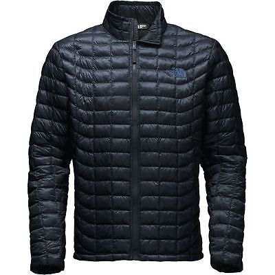 The North Face Men's THERMOBALL Full-Zip Insulated Stowable Jacket Urban Navy M