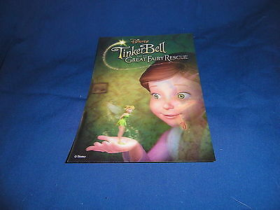 Disney 3-D Lenticular Collector Card Tinkerbell & the Great Fairy Rescue