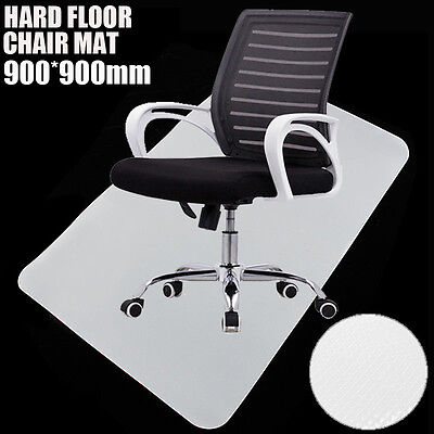 900 x 900mm PP Floor Mat Office Computer Home Chair Mat Protection Chair Pad New