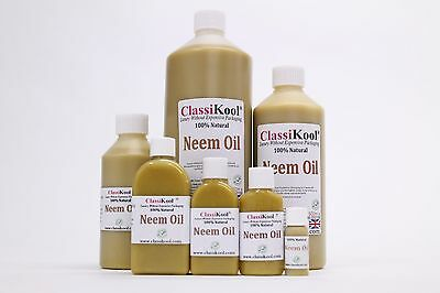 Classikool 100% Pure Organic Cold Pressed Natural Unrefined Neem Essential Oil