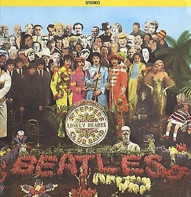 THE BEATLES Sgt. Pepper's Lonely Hearts Club Band 1970s Canadian Vinyl LP INSERT