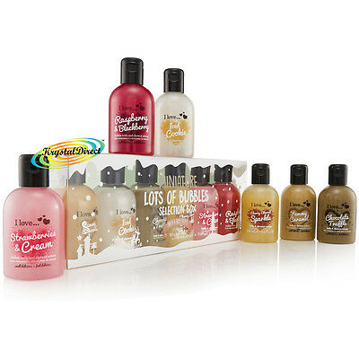 I Love Lots Of Bubbles Festive Bath & Shower Cream Luxury Xmas Gift Set