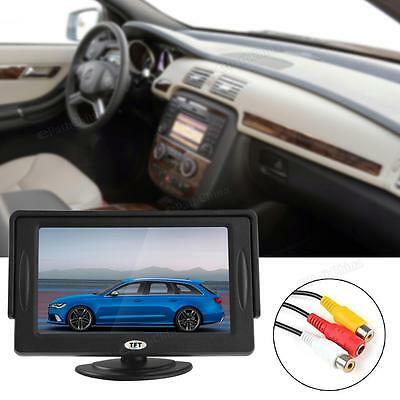 2-Channel 4.3Inch TFT-LCD Sunshade DVD VCR CAM Car Monitor Car Rear View Monitor