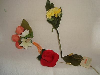 Mix Vintage Flowers- Corsage / Bouquets / Brooches / Hair