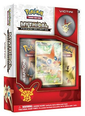 Pokemon TCG Generations :: Mythical Pokemon Collection - Victini :: Sealed Box!
