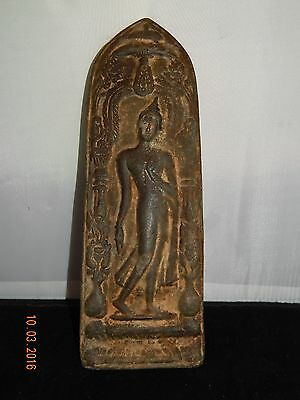 18TH CENTURY Thai Bronze Sukhothai Buddha Plaque