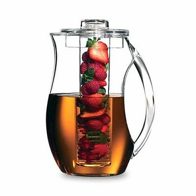 Serroni Unbreakables Fruit Infusion Pitcher Perfect Chiller Wine Beverage Water