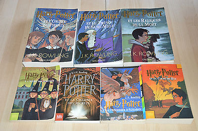 lot 7 livres harry potter collection int grale j k rowling folio junior eur 25 00. Black Bedroom Furniture Sets. Home Design Ideas