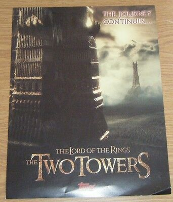 LORD OF THE RINGS Trading Cards - Promotional Poster