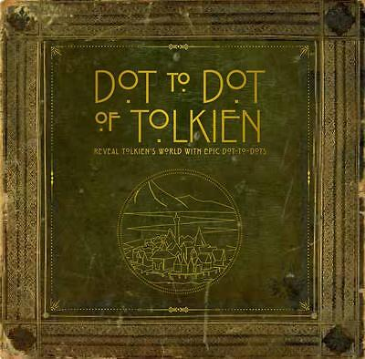 NEW Dot-To-Dot of Tolkien By Bounty Paperback Free Shipping