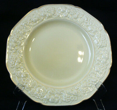 4 x Crown Ducal Florentine Salad Plate