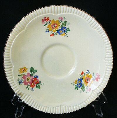 5 x Clarice Cliff Rosabelle Saucer
