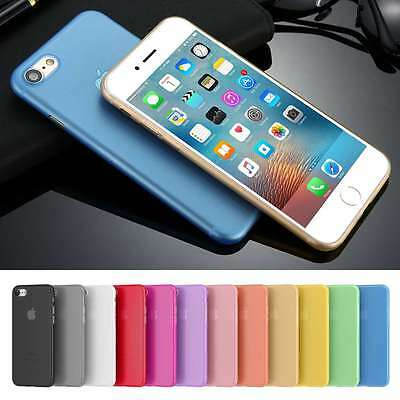 Ultra Thin Slim Matte Clear Hard PC Phone Case for Apple iPhone 7 iPhone 7 Plus