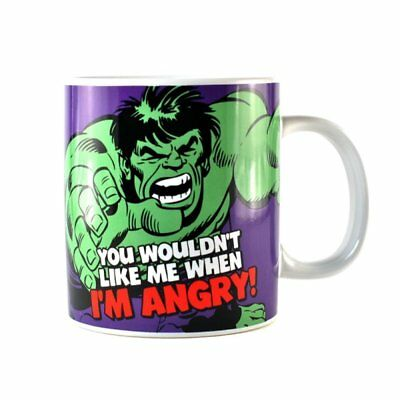 New Marvel Comics The Hulk Large Giant Tea Coffee Mug Cup Gift Boxed