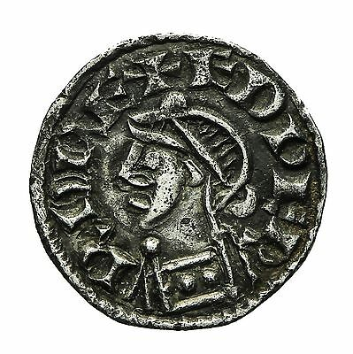 Saxon Edward The Confessor Small Flan Type Penny  S1175  York Mint