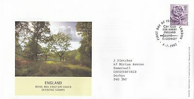 (92399) CLEARANCE GB England FDC 68p - London 4 July2002