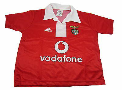 Adidas Benfica Lisbon Jersey New [Size 128 ] Red