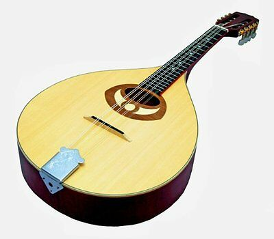 New Flat Back Mandola By Ozark Natural Satin Finish All Solid Wood Top Back And