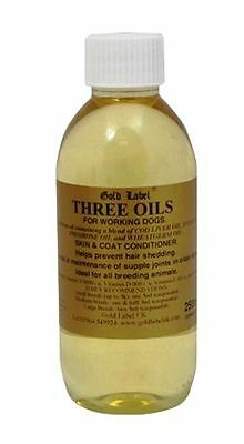 Gold Label - Horse & Canine Three Oils x 250 Ml