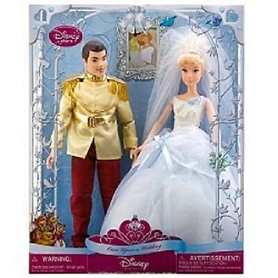 Disney Cinderella Wedding Doll Set-New