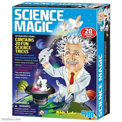 Science Magic - Contains 20 Fun Science Tricks Kids Educational Activity Kit 4M