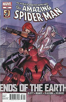 "Amazing Spider-Man ""black Widow & Silver Sable"" #685 (2012) Marvel Comics V/f+"
