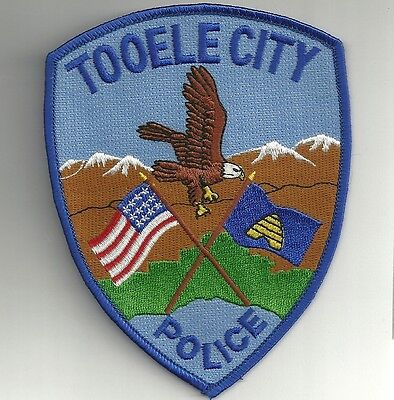 UTAH  TOOELE  CITY  Police Patch  Polizei Abzeichen USA Aufnäher South-West