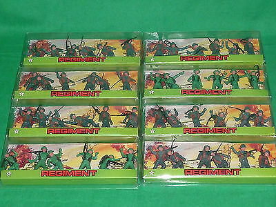Star soldiers 54mm x 6 WW2 britains & timpo swoppet copy german american troops