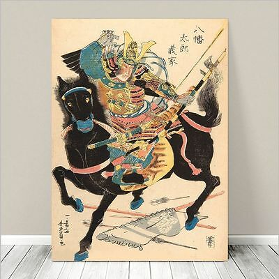 Kuniyoshi Japanese Samurai Octopus Warriors Painting 8x10 Fine Art Canvas Print