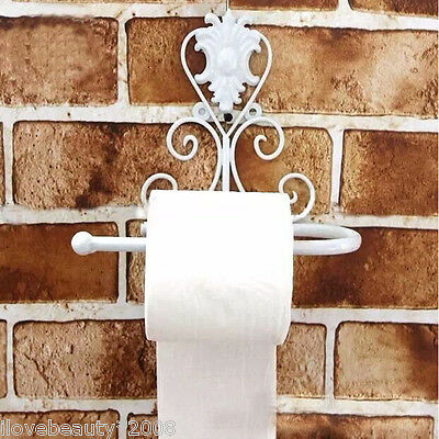European Archaize Bathroom Toilet Roll Paper Holder Towel Rack Decorate Wall