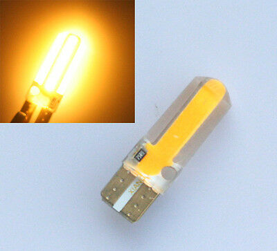 10x Gelb Amber T10 W5W CANBUS 20 SMD COB LED Lampe Innenraum Beleuchtung 12V