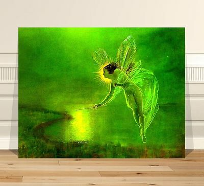 John Atkinson Grimshaw Spirit of the Night Fairy ~ FINE ART CANVAS PRINT 8x10""