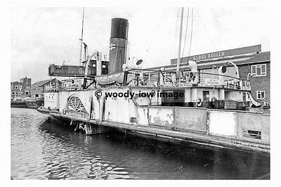 pt8214 - Humber Paddle Steamer - Lincoln Castle - photograph 6x4
