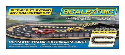 Scalextric C8514 Ultimate Track Extension Pack 1:32 Scale Accessory New Sealed