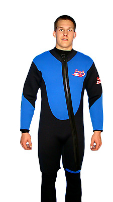 Gold Mining 5X 4100 7mm Farmer John 2 Piece Wetsuit Cold Water Suit