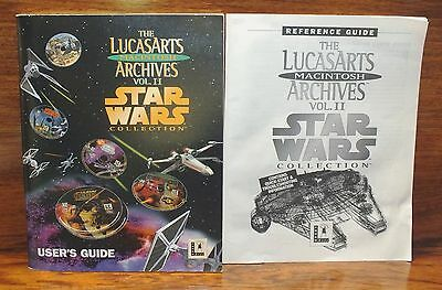 The Lucas Arts Archives Vol. II Star Wars Collection Reference & User Guide's!