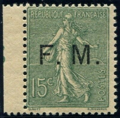 Lot N°3759a France Franchise Militaire N°3 Neuf ** LUXE