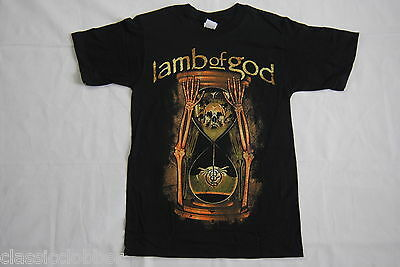 Lamb Of God Hourglass T Shirt New Official Rare Redneck Wrath Resolution Metal